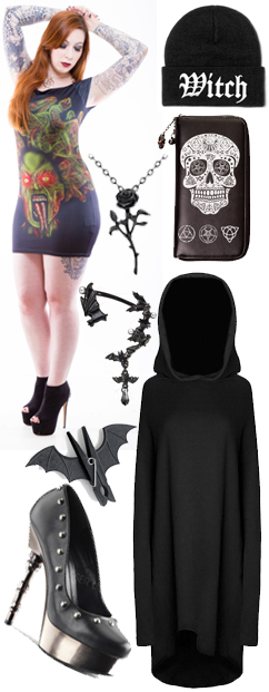 New Gothic Clothing and Accessories